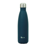 Insulated Stainless Steel Bottle - Granite Midnight Blue (500ml) | Qwetch
