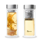 Double Walled Infuse Glass - 320ml | Qwetch
