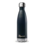 Qwetch Insulated Stainless Steel Bottle - Black (500ml)