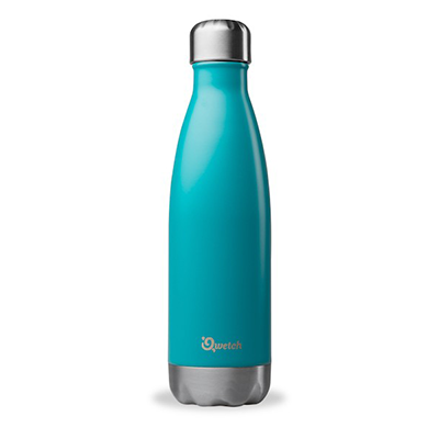 Insulated Stainless Steel Bottle - Turquoise (500ml) | Qwetch