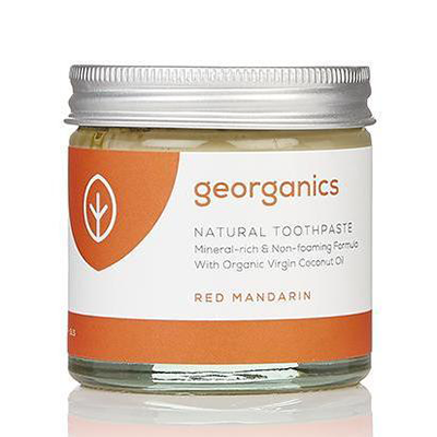Natural Toothpaste - Red Mandarin | Georganics
