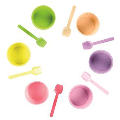 RetroKitchen Gelato Cup Set of 6