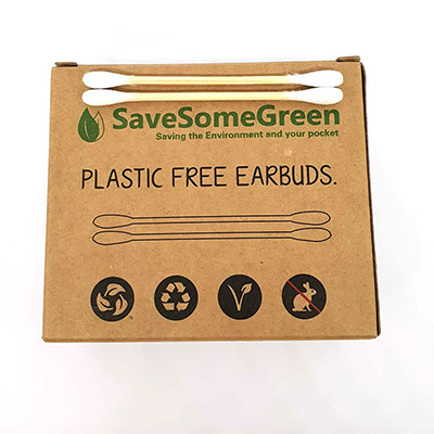 Plastic Free Ear Buds | Save Some Green