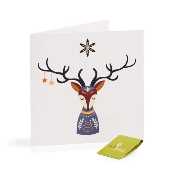 ecoliving recycled christmas cards