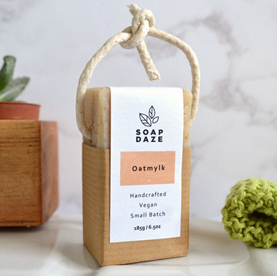 Soap on a Rope - Oat milk | Soap Daze