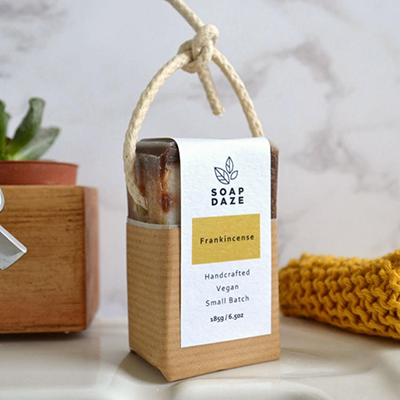 Soap on a Rope - Frankincense | Soap Daze