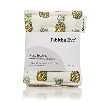 Tabitha Eve None Sponges - Pineapple
