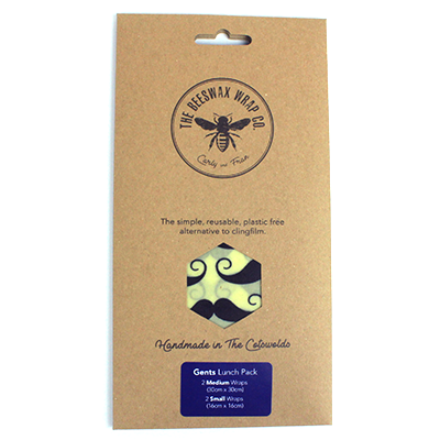 Beeswax Wraps - Gentleman's Lunch Pack