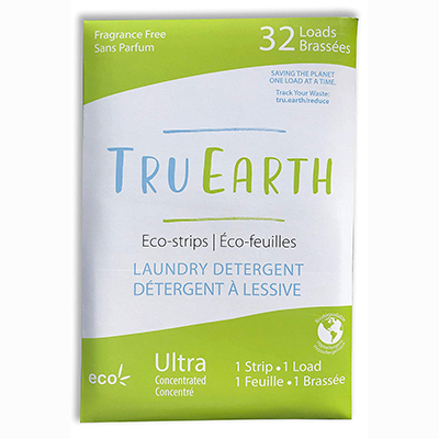 tru earth laundry strips spring blossom