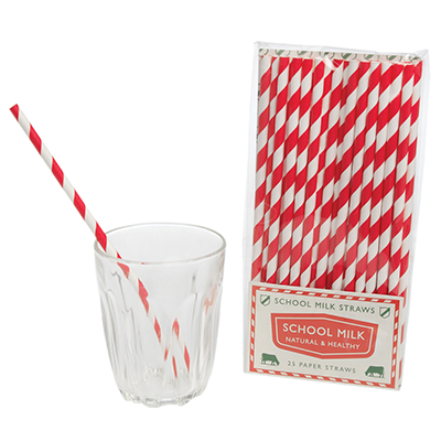Vintage Paper Straws | One Green Bottle