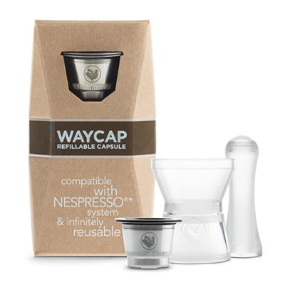 WayCap Reusable Nespresso Machine Coffee Pod