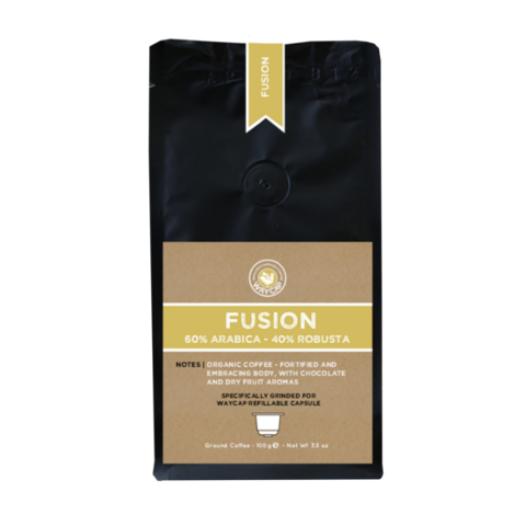 WayCap Ground Coffee For Reusable Coffee Pods - Fusion