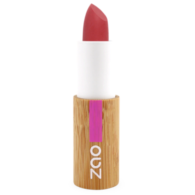 Zao Refillable Vegan Soft Touch Lipstick (435 Pomegranate Red)
