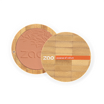 Zao Refillable Compact Blush Brick Red