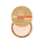 Zao Refillable Vegan Compact Powder Ivory