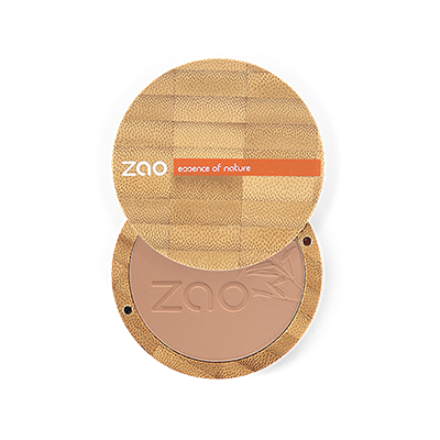 Zao Refillable Vegan Compact Powder Milk Chocolate