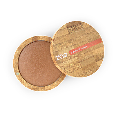 Zao Refillable Cooked Mineral Powder Golden Bronze