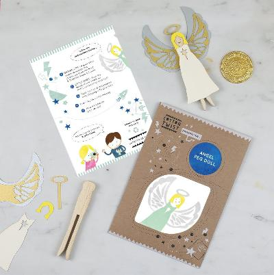 Angel Treasure Hunt Craft Kit | Cotton Twist