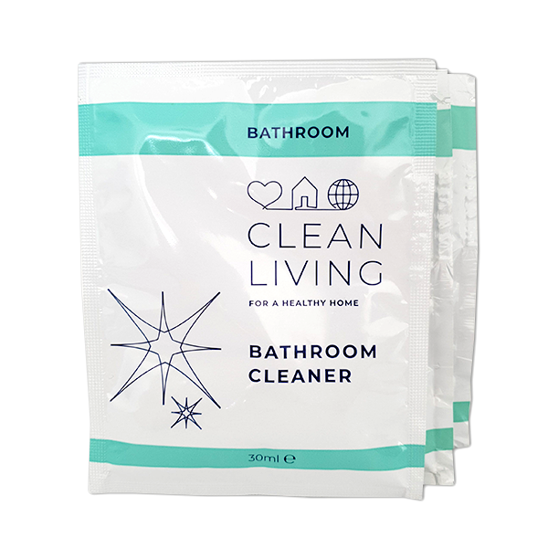 Clean Living refill Sachet bathroom