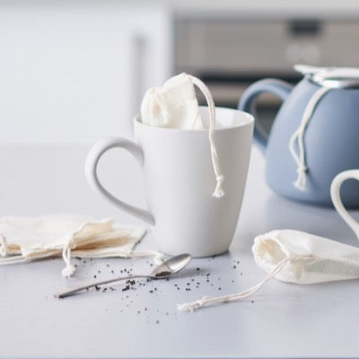 Reusable Cotton Tea Bags | EcoLiving