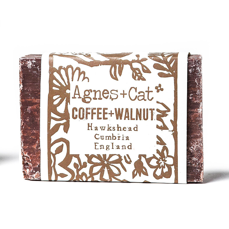 Agnes + Cat Coconut Butter Soap Coffee and Walnut