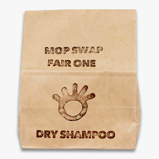 Zero Waste Dry Shampoo - Lighter | Primal Suds