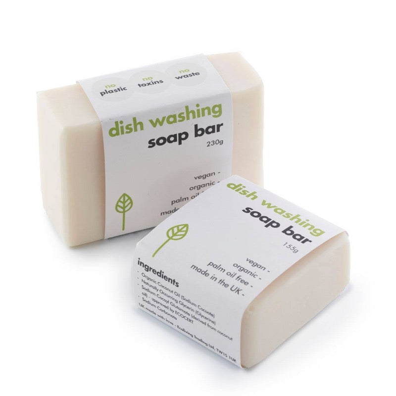 Solid Dishwashing Soap Bar | EcoLiving