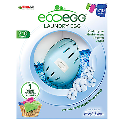 ecoegg Laundry Egg - Fresh Linen (210 Washes)