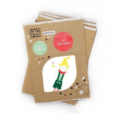 Elf Treasure Hunt Craft Kit | Cotton Twist