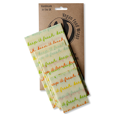 Vegan Food Wraps beeswax wrap company