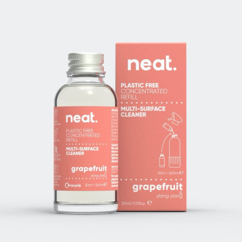 Cleaning spray refill eco friendly toxin free vegan neat. grapefruit