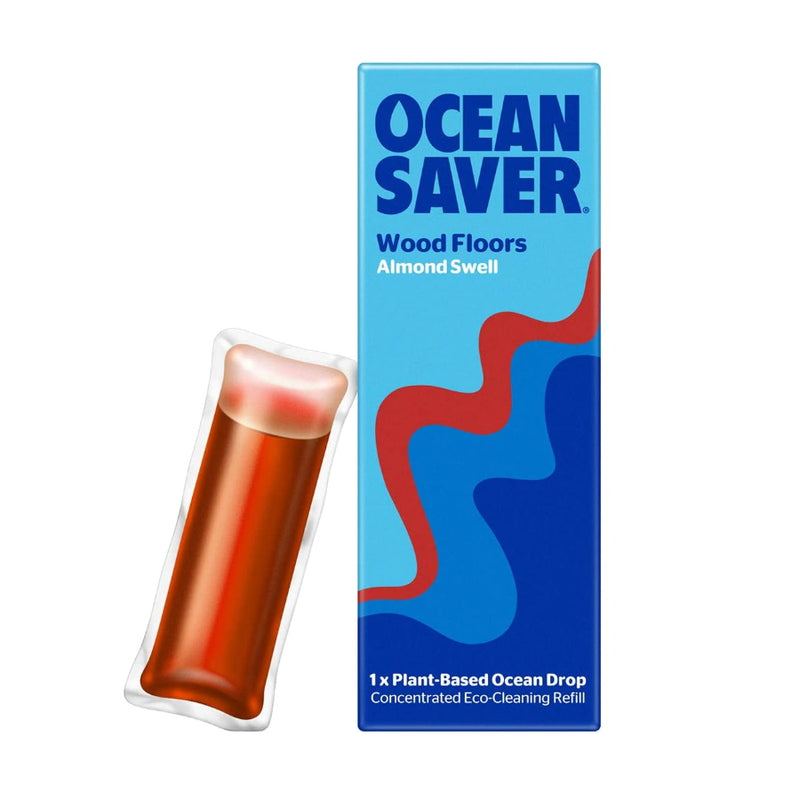 oceansaver cleaning drop wood floors almond refill