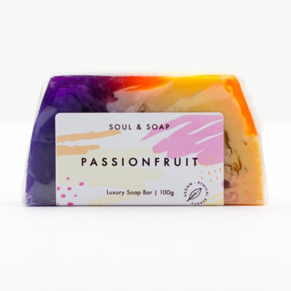 soul and soap soap bar passion fruit luxury soap gift