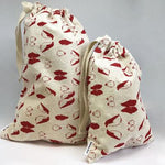 Cotton Santa Sacks - Penguin | Tabitha Eve
