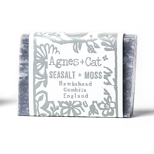 agnes and cat coconut butter soap sea salt