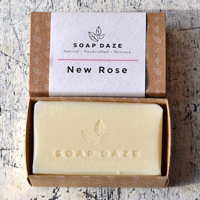 Natural Soap Bar - New Rose | Soap Daze