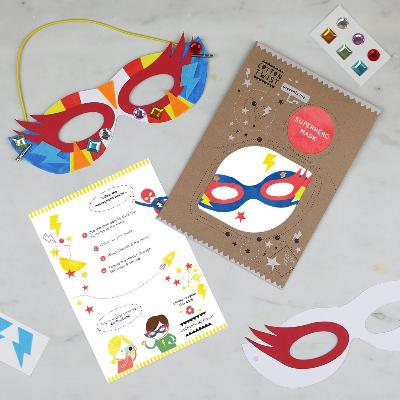 Make Your Own Superhero Mask Craft Kit | Cotton Twist