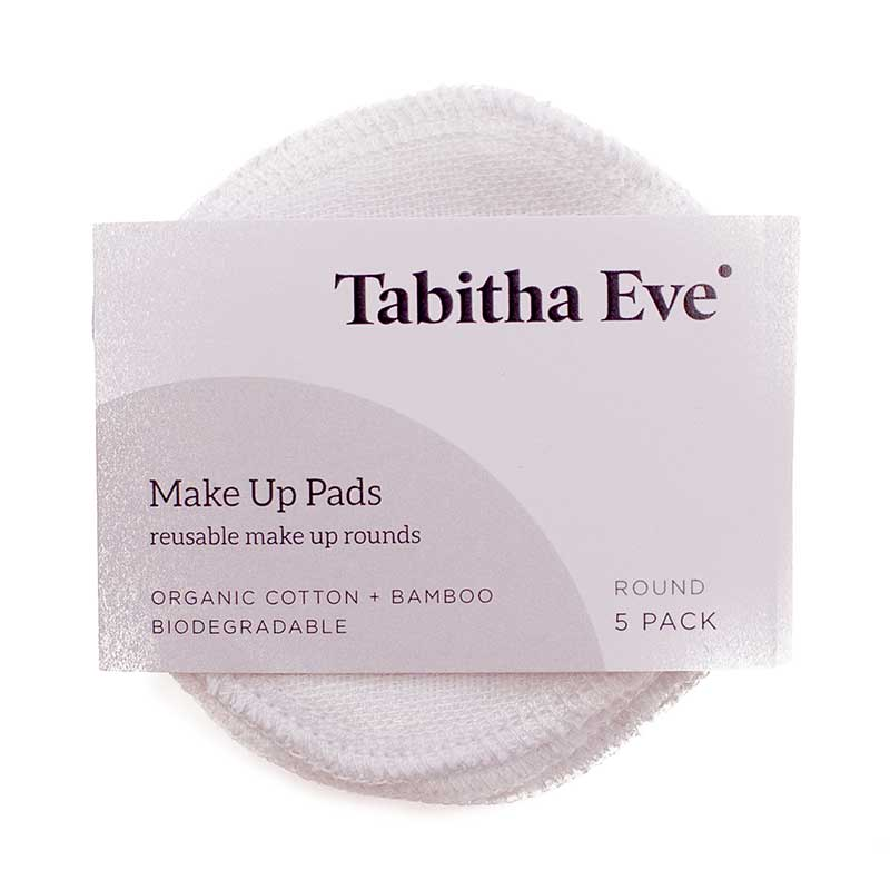 Reusable Makeup Rounds | Tabitha Eve