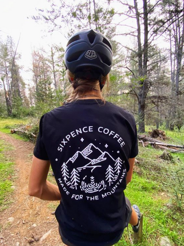 Sixpence coffee  Made for the Mountains TEE