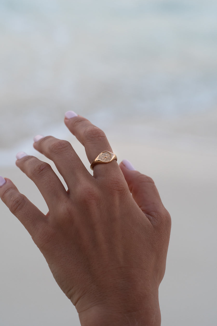 Daisy Ring - Gold