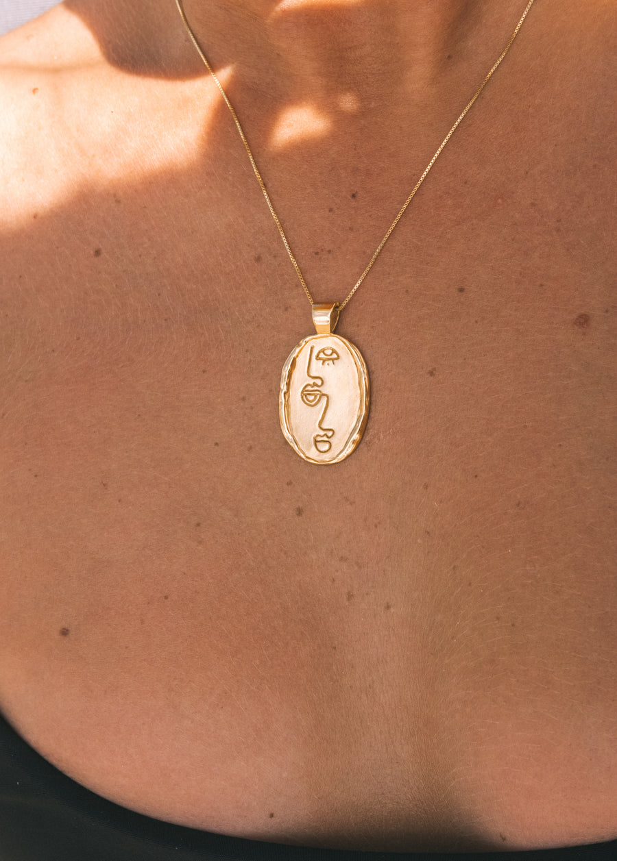 Sisterhood Pendant- Gold