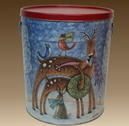 Christmas 3.5 Gallon Tin - 1 Flavor