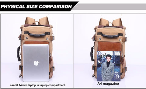 f78b0f719719 Stylish Travel Large Capacity Backpack Male Luggage Shoulder Bag ...