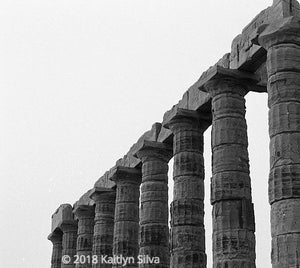 Temple of Poseidon, Greece (Photography Print)