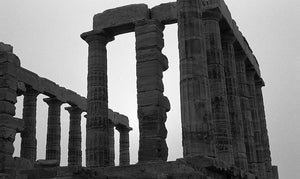 Temple of Poseidon II, Greece (Photography Print)