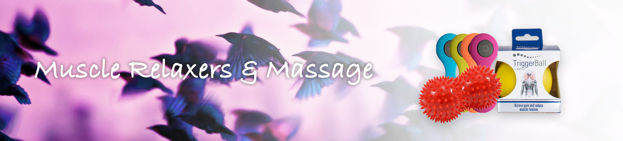 MUSCLE RELAXERS & MASSAGE