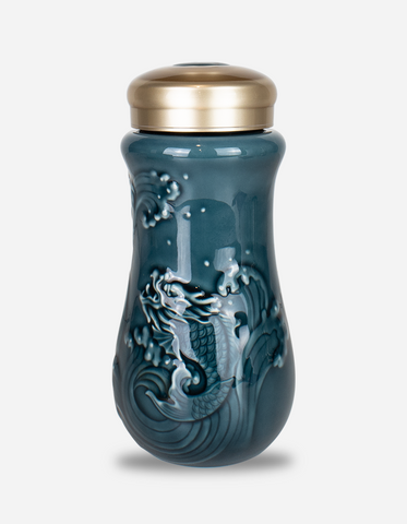Dragon Blue Insulated Travel Mug 250ml