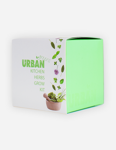 Urban Greens - Kitchen Herbs Grow Kit