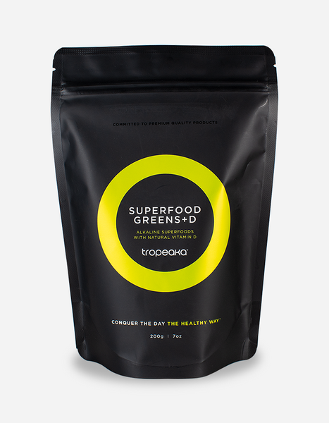 TROPEAKA - Superfood Greens With Vitamin D 200g