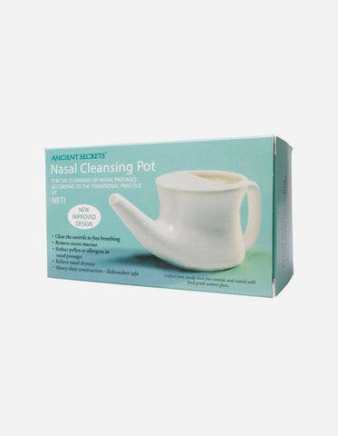 Ancient Secrets Ceramic Neti Pot